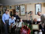 总局老干办中国版协联合慰问百岁出版寿翁王仿子