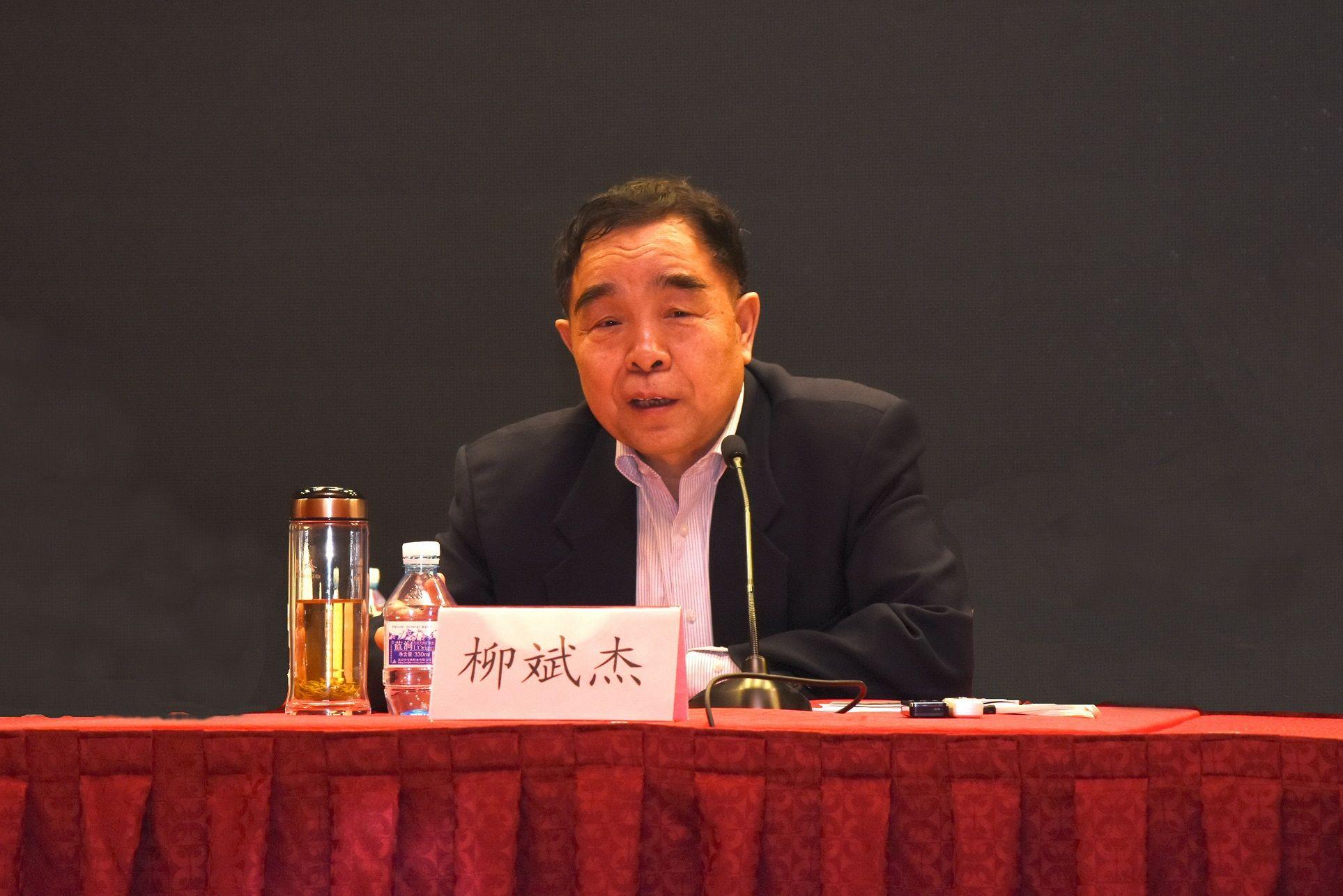 柳斌杰理事长在2015中国出版年会上作报告